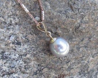 Grey South Sea Pearl