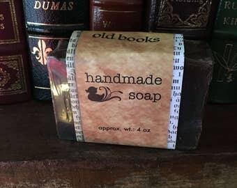 Old books Handmade Goat Milk Soap