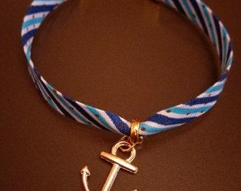 Liberty marine bracelet with anchor