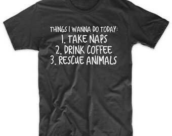 Rescue Animals Shirt - Animal Rescue Shirt - Dog Mom Shirt - Cat Mom Shirt - Rescue Animal Tee - Animal Rescue T-Shirt - Dog Mom Tee