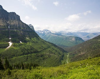 Glacier National Park Valley View