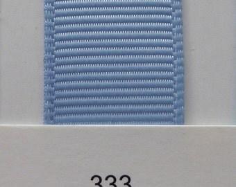 "3/8"" / 10mm Solid Grosgrain Ribbon BLUEBIRD #333 X 2 METERS"
