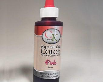 Pink Gel Color