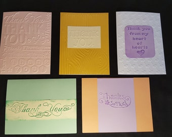 Thank You card 10 pack