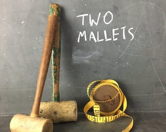 2 small mallets