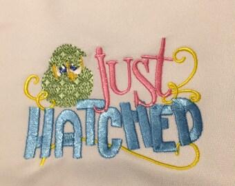 """Easter Design """"Just Hatched"""""""