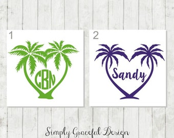 Tropical decals | Etsy