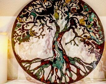 Metal Tree, Tree art, Metal wall art, Metal tree art, Family tree , Wall decor, Metal wall decor, Metal Family tree, rustic metal tree, tree
