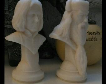 Harry Potter Candle Set of 2 - Fantastic Beasts - Professor Snape and Albus Dumbledore