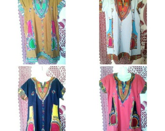 Dashiki tunic/dress