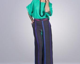 100% linen pants