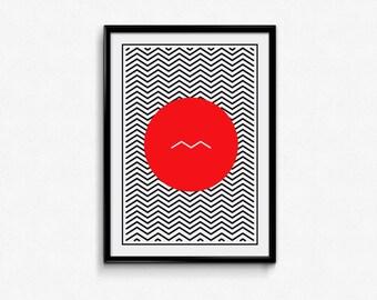 Free spirit / digital print / motivational / inspiration / artwork / printable art / wall art / modern / minimalist / decoration