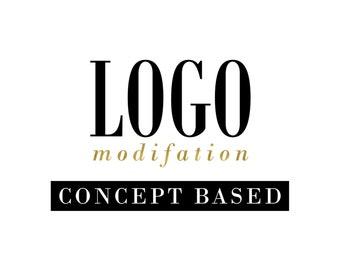 Concept Based Logo / Semi Custom Logo Design / Custom Logo Option / Create your own OOAK Logo Design