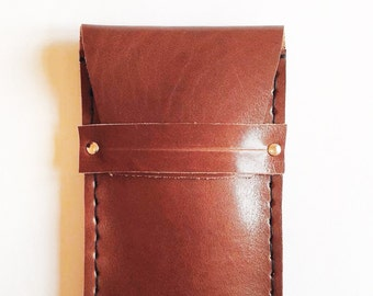 leather phone case (pouch telefon)