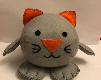 Kitty ball soft toy