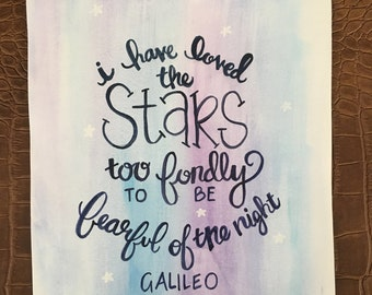 Galileo Star Quote