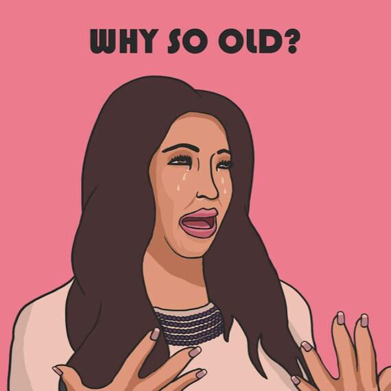 Central 23 Kim Kardashian Birthday Card Why So – Kim Kardashian Birthday Card