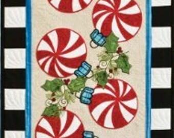 Peppermint Candy Tablerunner Pattern