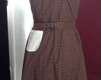 Vintage 1940 Girls Halter Dress Size 12