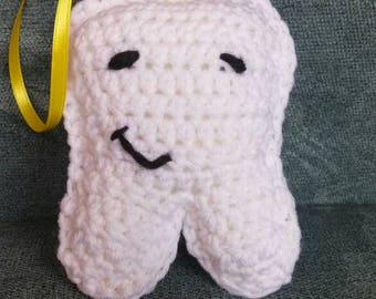 Crochet Tooth Fairy Pillow, tooth pillow, Tooth Fairy Pillow