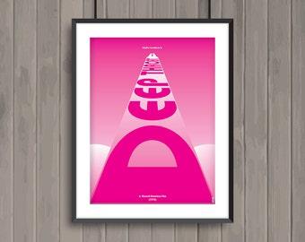 DEEP THROAT, minimalist movie poster