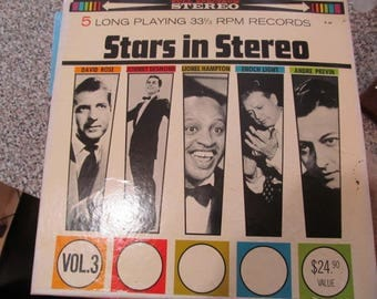 Stars in Stereo 5 Long playing RPM records