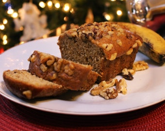 Banana Nut Bread - Loaf