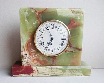 Vintage Clock Italora-Milan-Italy Four-4-Jewels Unadjusted