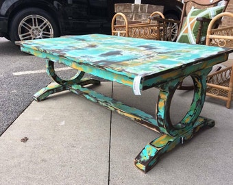SOLD Island Shipwreck Coffee Table