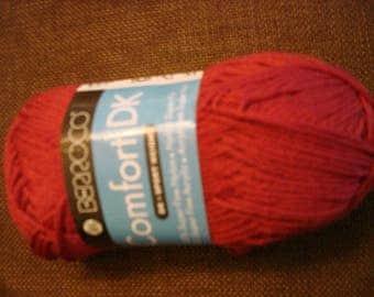 Berroco Comfort DK, 50 Superfine Nylon/50 Superfine Acrylic, color - Teaberry 2730