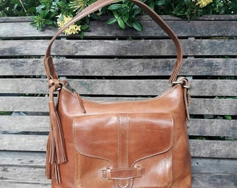 Abbey Classic Leather Bag