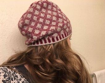Irish chain hat
