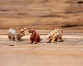 Soapstone Dinosaurs