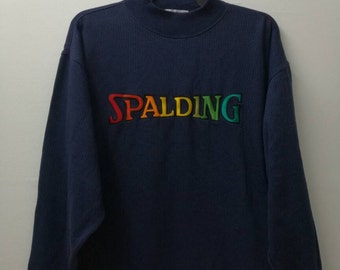 embroidered SPALDING sweatshirt
