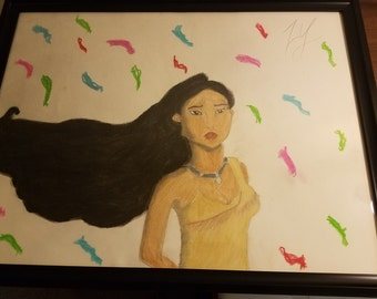 Fantart- Pocahontas from Disney