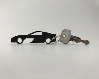 Chevrolet Corvette C6 Bottle Opener Keychain
