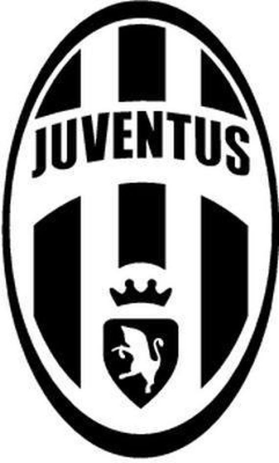Vinyl Decal Sticker - Juventus Decal for Windows, Cars, Laptops, Macbook, Yeti, Coolers, Mugs etc