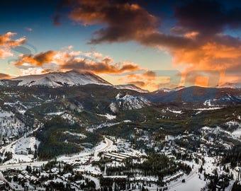 11.75 x 36 Mt. Baldy in Breckenridge, Colorado