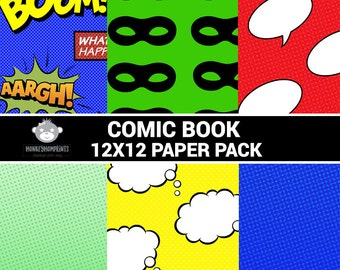 Comic Book Paper Pack