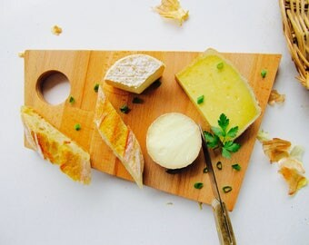 Beech wood Cheese board - Cutting board - Chopping board