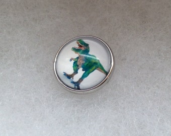 Dinosaurs Snap Button Charm