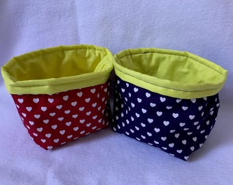Punnets fabric basket bread basket beauty basket