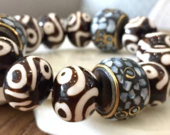 Tibetan jewelry; Tibetan beads; Tibetan bracelet; Tibetan stones