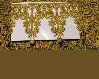 Venice lace gold