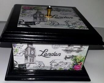 London Themed Trinket Box