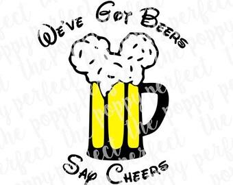 Mouse Beer SVG
