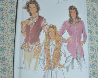New Look 6275 Misses Vest / Waistcoat Sewing Pattern - Size 6 - 16