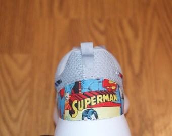 DC Comics Superman (Man of Steel) Nike Roshe Run One Shoe Sneaker