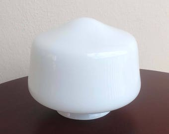 Lamp Part Replacement Globe Milk Glass Shade Ceiling Lamp Part  Ceiling Shade Light Shades Lighting Fixtures Glass Ceiling Shade Fitter 3 in