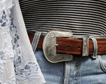 Brown Vintage Belt